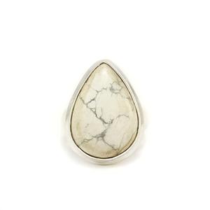 Сребърен пръстен с хаулит