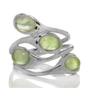Сребърен пръстен с пренити