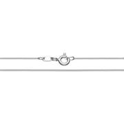 Фина сребърна верижка 41 см.