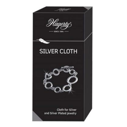 Импрегнирана кърпа за почистване на сребро Hagerty Silver Cloth